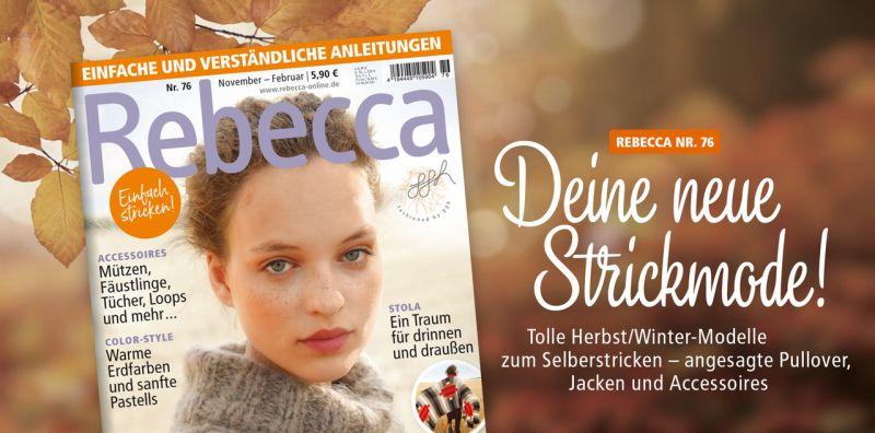 Rebecca Magazin Nr.76 Wintermode Herbstmode