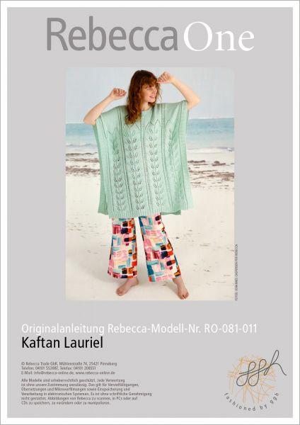 Anleitung - Kaftan Lauriel