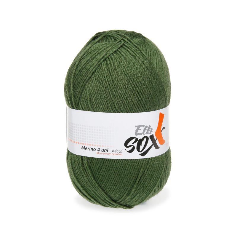 ElbSox Merino extrafein Sockenwolle 4fach