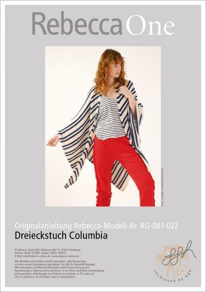 Anleitung - Dreieckstuch Columbia