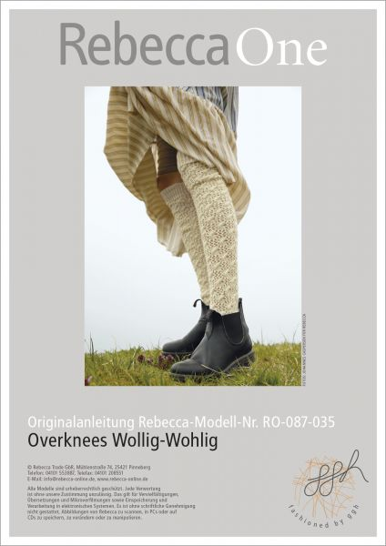 Anleitung - Overknees Wollig-Wohlig
