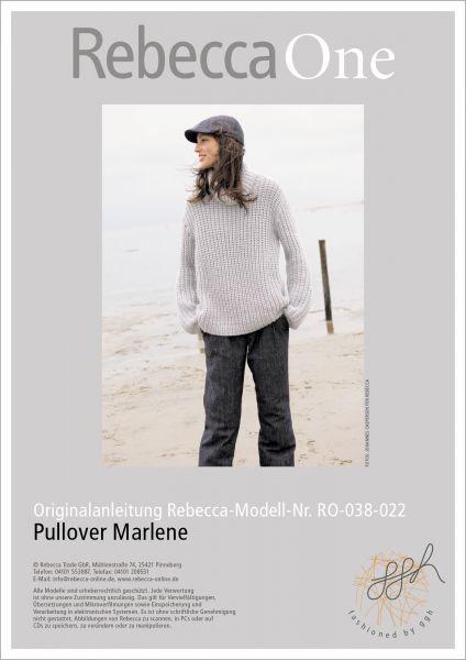 Anleitung - Pullover Marlene