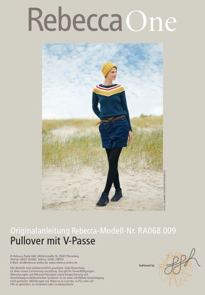 Pullover mit V-Passe