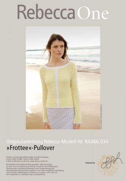"""Frottee""-Pullover"