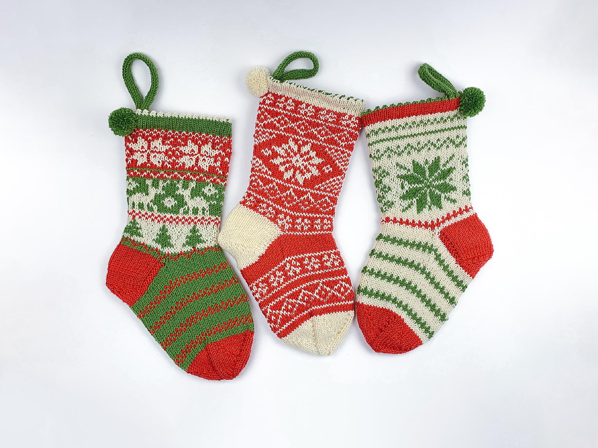 3x-weihnachtssocken-norwegermuster-stricken-anleitung