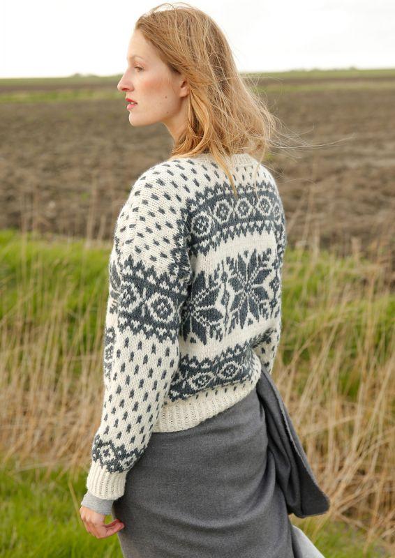 Norweger Pullover stricken Strickanleitung