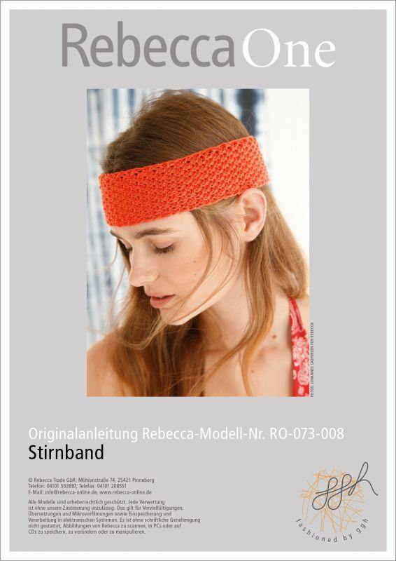 Kostenlose Strickanleitung jetzt herunterladen: Stirnband