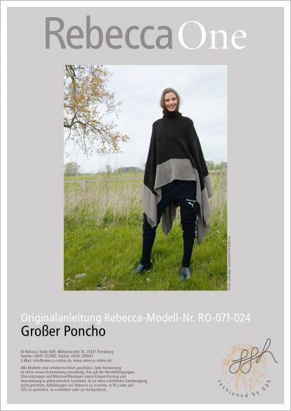 Strickanleitung - Poncho