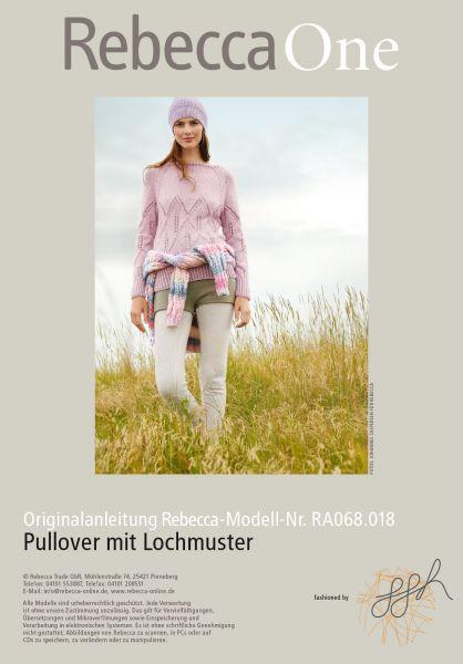 Lochmusterpullover
