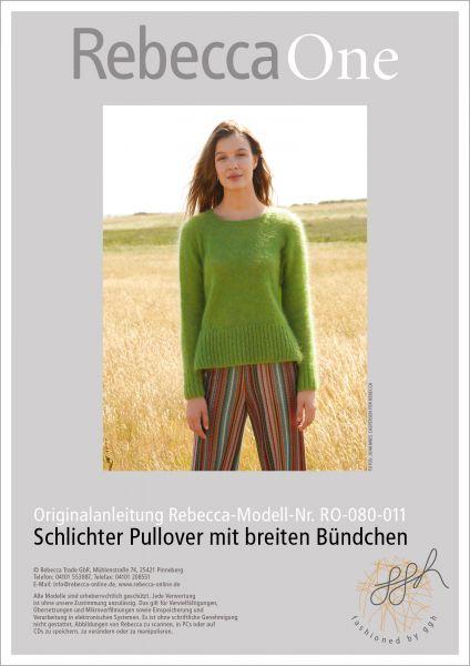 Anleitung - Schlichter Pullover
