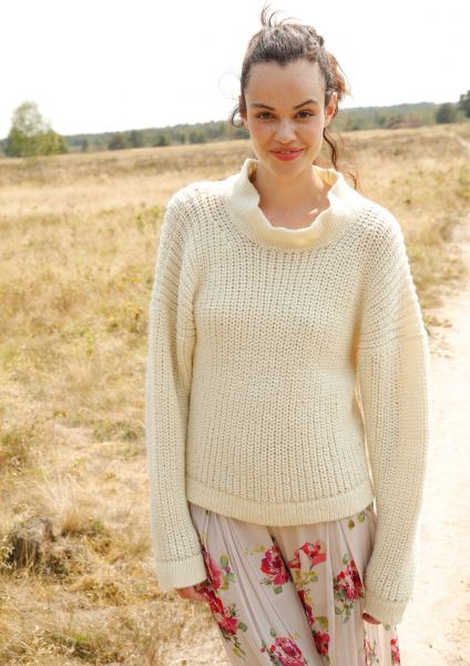36795a6b5d69 Knit pattern – Jumper with half fisherman s rib pattern