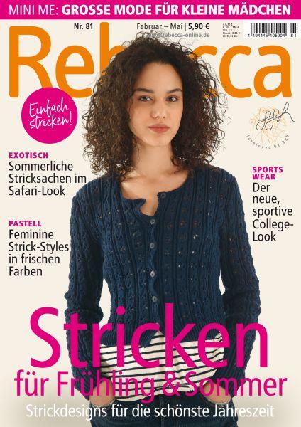 Rebecca Heft Nr. 81