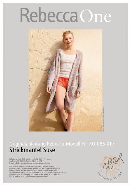 Anleitung: Strickmantel Suse