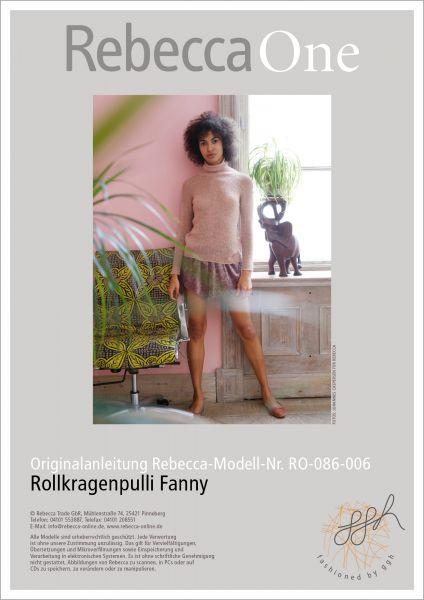 Strickanleitung – Rollkragenpulli Fanni