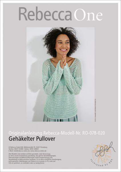 Anleitung - Gehäkelter Pullover