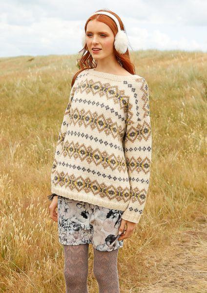 Jacquard-Pullover Jule
