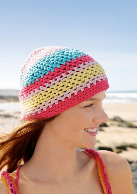 Kostenlose Häkelanleitung: Mütze häkeln