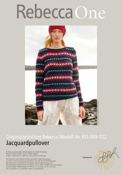 Jaquardpullover
