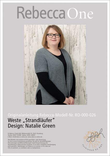 """Anleitung - Weste """"Strandläufer"""""""