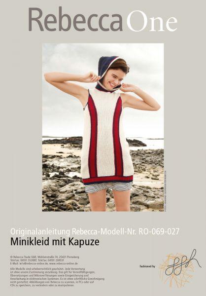 Minikleid mit Kapuze