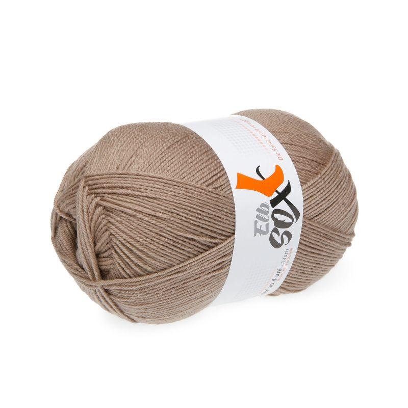 Sockenwolle ElbSox 4fach Uni Merinowolle extrafein