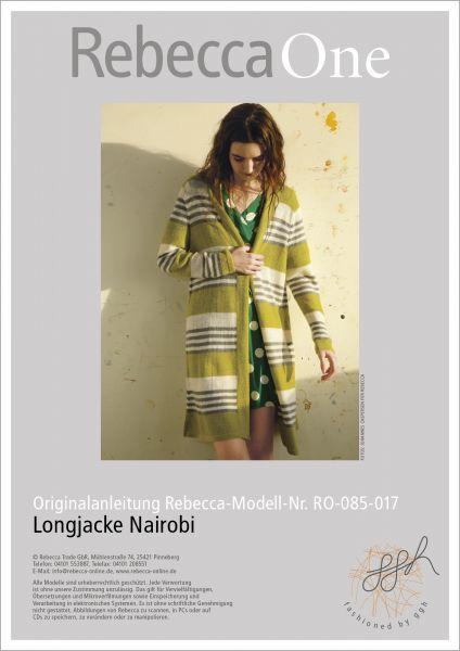 Anleitung - Longjacke Nairobi