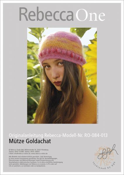 Anleitung - Mütze Goldachat