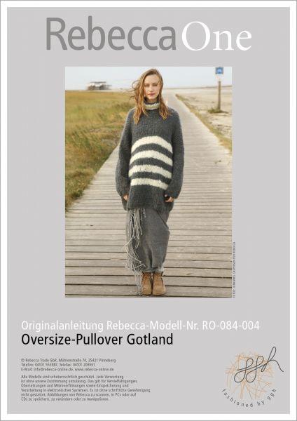 Anleitung - Oversize-Pullover Gotland