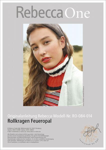 Anleitung - Rollkragen Feueropal