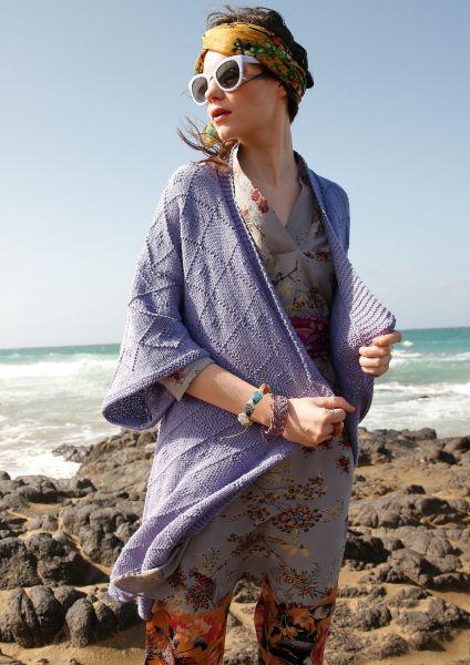 Strickanleitung - Kimono