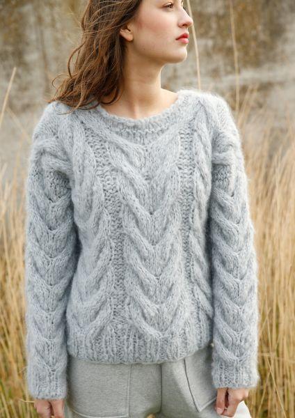 Pullover mit Zöpfen | Rebecca