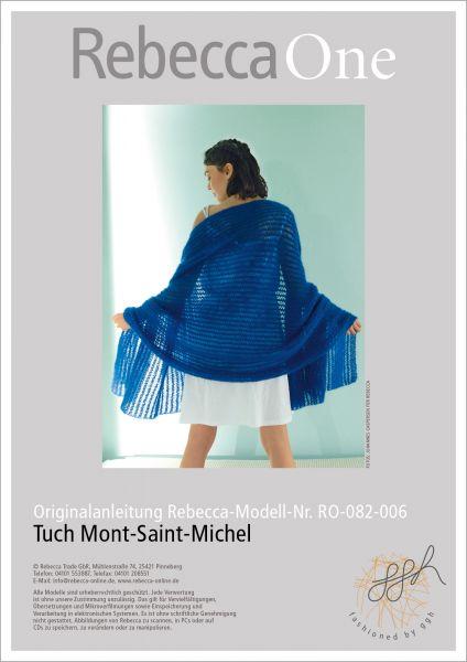 Anleitung - Tuch Mont-Saint-Michel