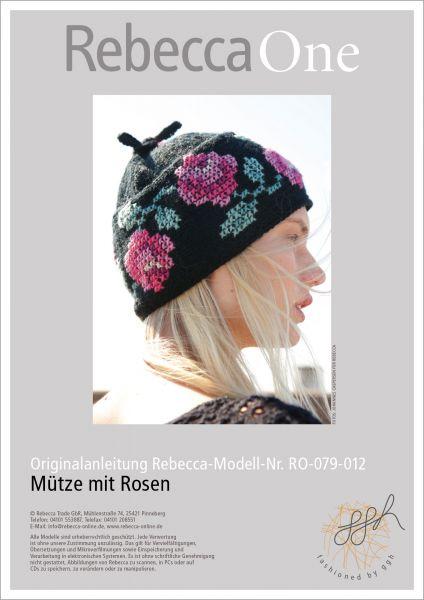 Anleitung - Mütze mit Rosen