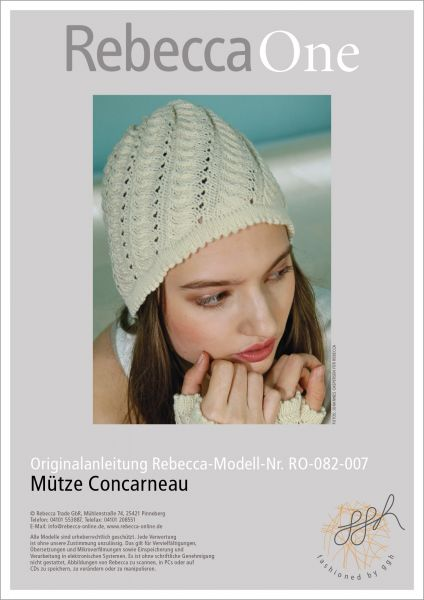 Anleitung - Mütze Concarneau