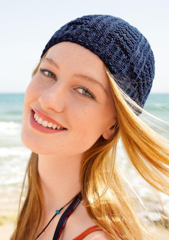 Stricken für Anfänger: Sommer-Mütze stricken