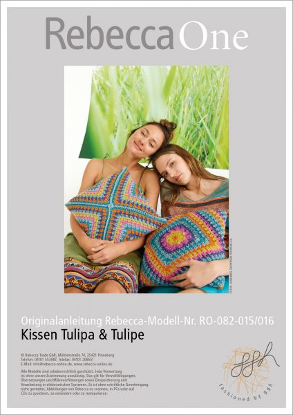 Anleitung - Kissen Tulipe