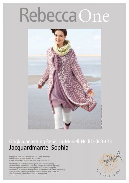 Anleitung Jacquardmantel Sophia
