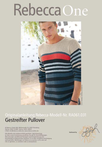 Gestreifter Pullover