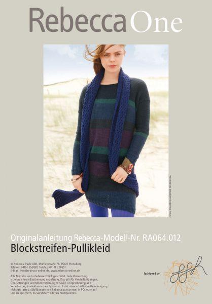 Blockstreifen-Pullikleid