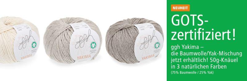 ggh Yakima - GOTS zertifizierte Wolle