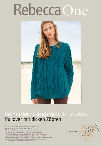 Pullover mit dicken Zöpfen