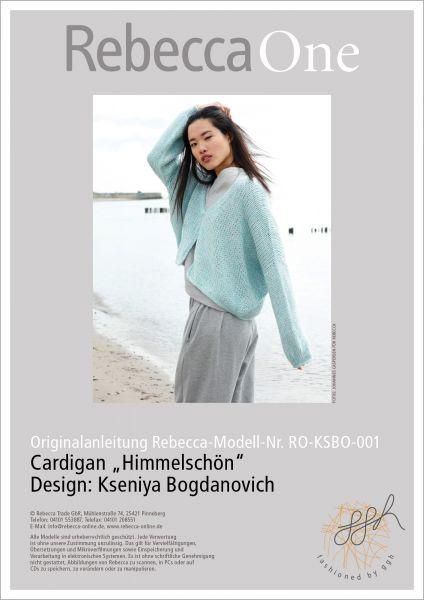 """Anleitung - Cardigan """"Himmelschön"""""""