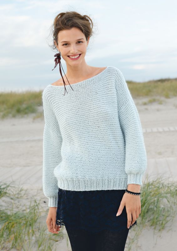 e2c23fdc60deb8 Stricken für Anfänger: Strickpullover stricken. Pullover stricken für  Anfänger