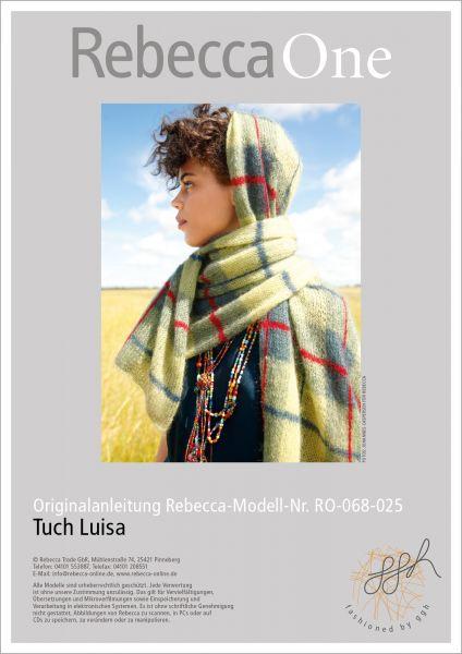 Anleitung Tuch Luisa