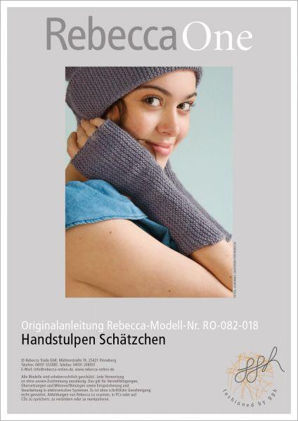 Anleitung - Handstulpen Schätzchen