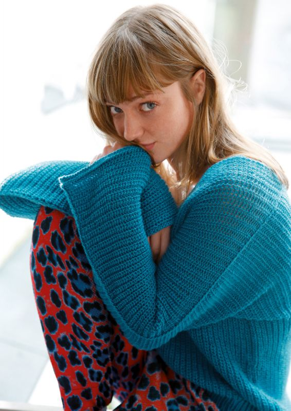 Fledermaus Pullover stricken