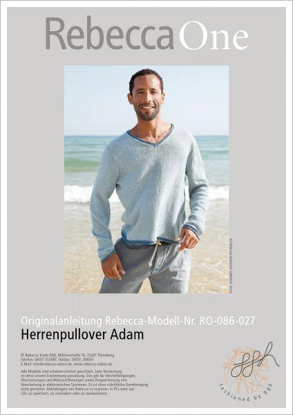Strickmuster - Herrenpullover Adam