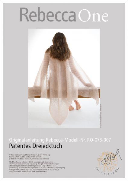 Anleitung - Patentes Dreieckstuch