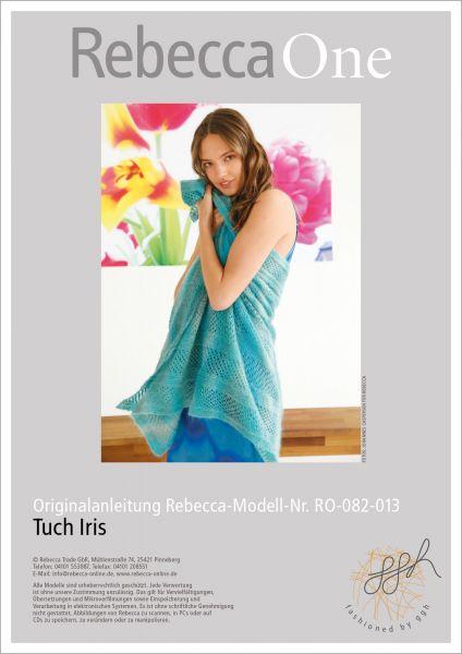 Anleitung - Tuch Iris