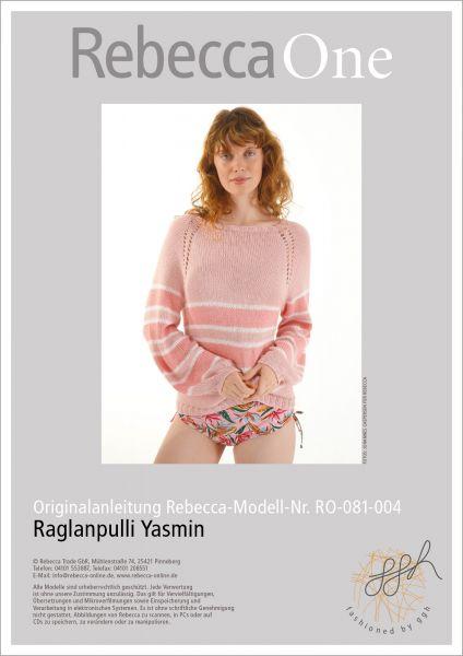 Anleitung - Raglanpulli Yasmin
